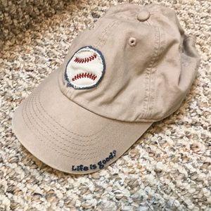 Life is Good kids hat